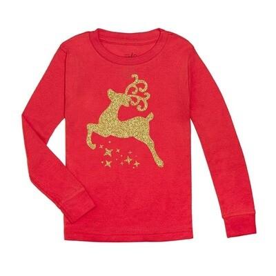 Christmas Reindeer L/S Tee