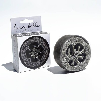 Loofah Soap - Charcoal Bamboo