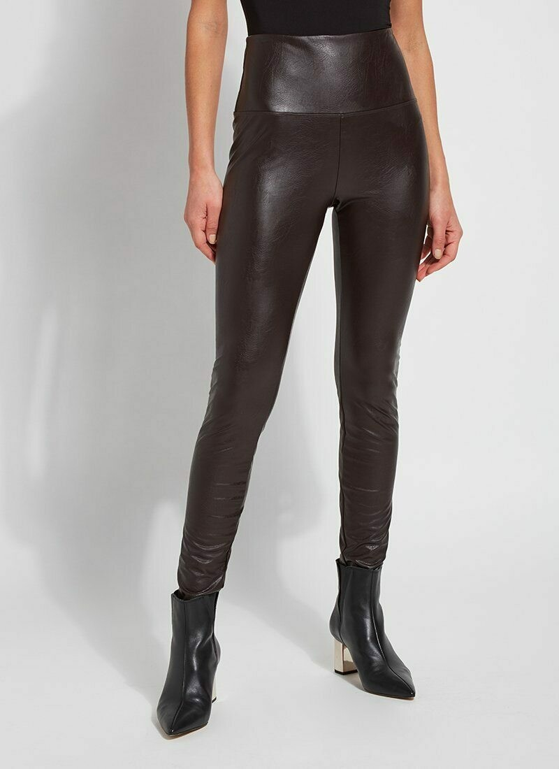 Lysse Vegan Leather Legging - Espresso