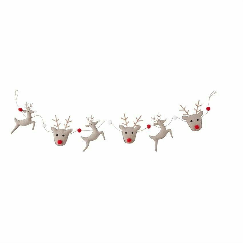 Reindeer Garland