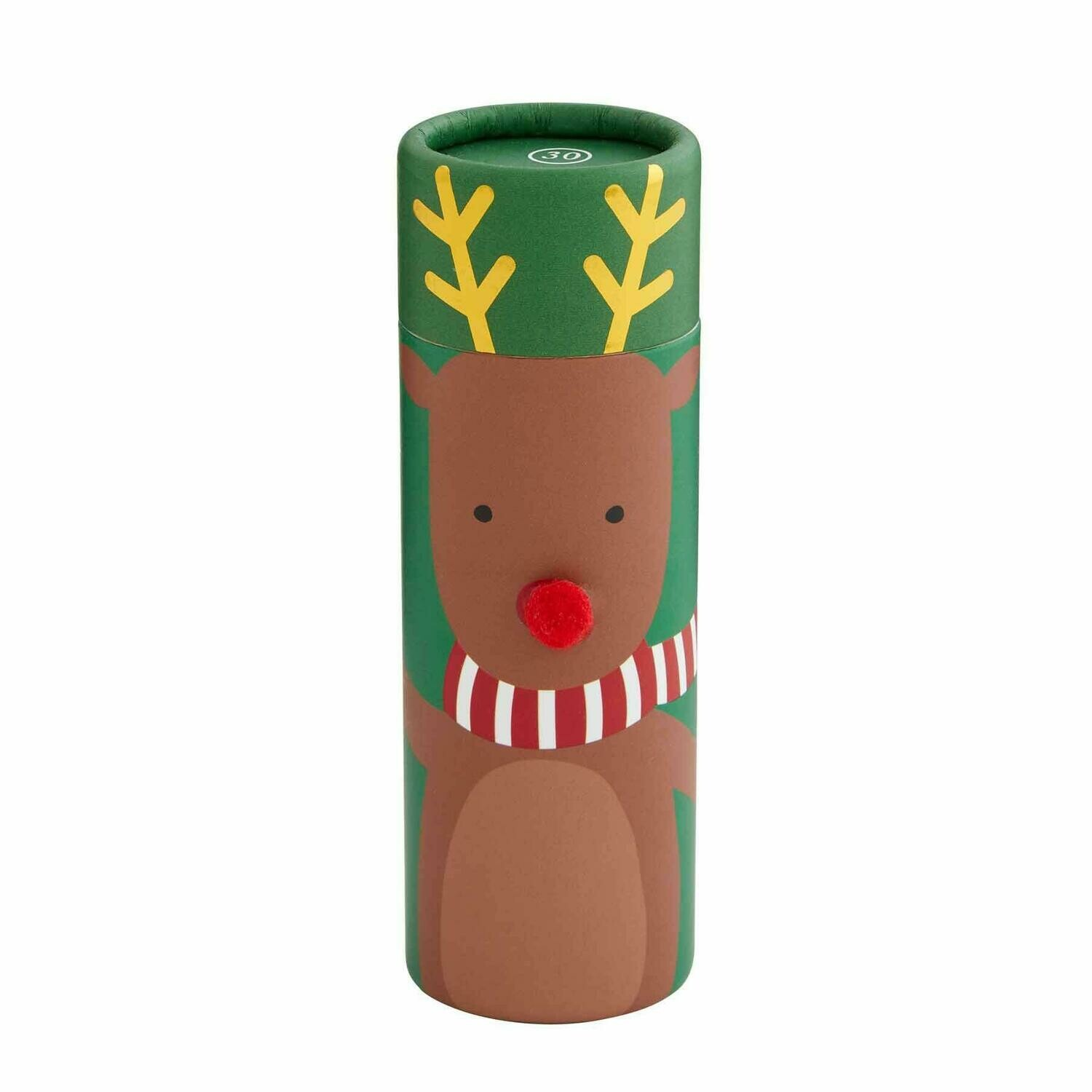 Reindeer Matches in a Tube