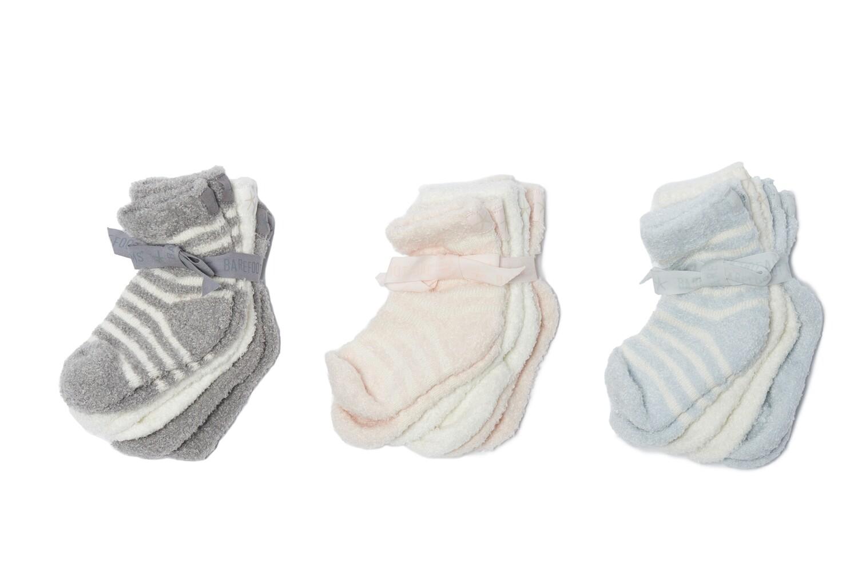 Barefoot Infant 3pk Socks