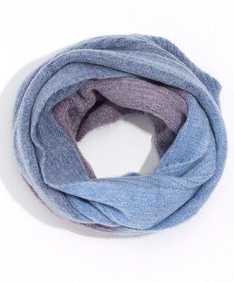 Echo Purple/Blues Ombre Infinity Scarf