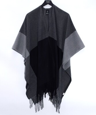 Echo Black/Grey Colorblock Wrap