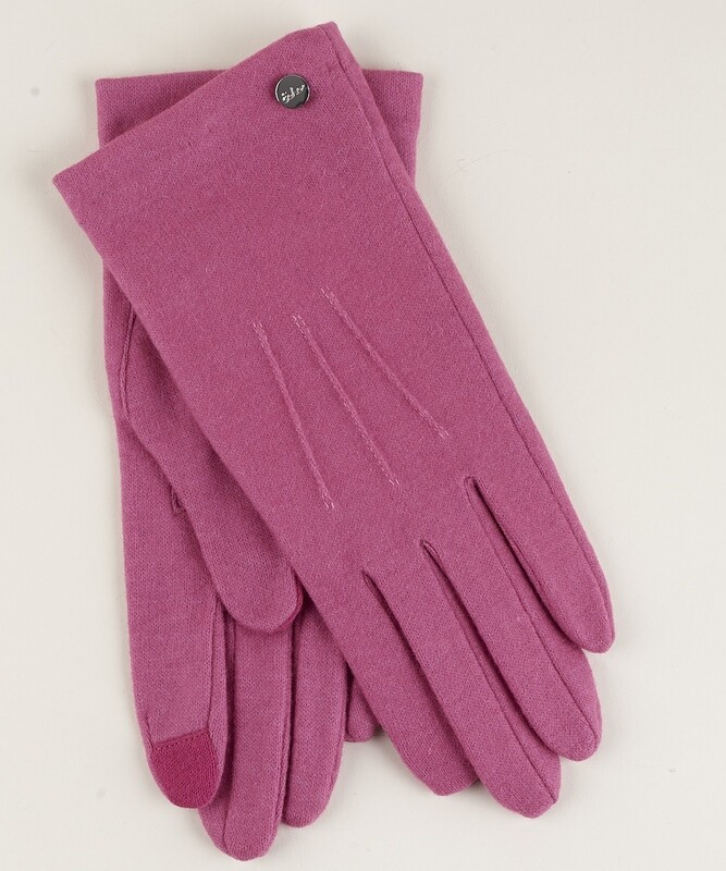 Echo Water Repellent Touch Glove - Pink
