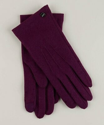 Echo Water Repellent Touch Glove - Purple