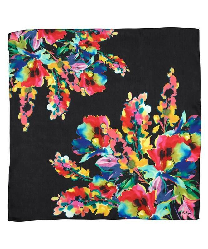 Echo Watercolor Floral Scarf
