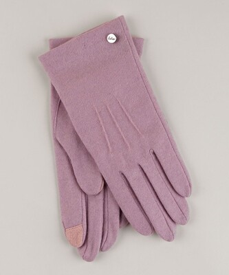 Echo Water Repellent Touch Glove - Lt. Pink