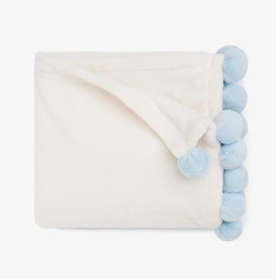 Elegant Baby Pom Pom Blanket