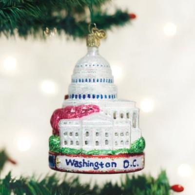 Capital Christmas Ornament