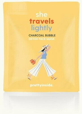 Musee Detox Face Mask - She Travels Lightly Charcoal Bubble