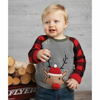 Buffalo Reindeer Sweater