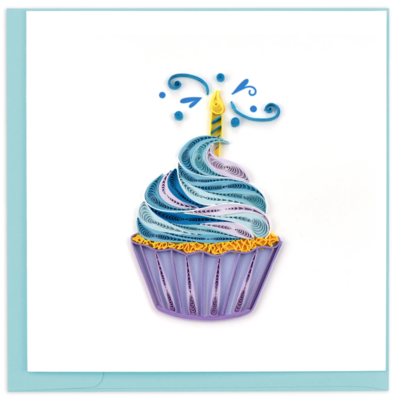 Quilling Cards - Cupcake & Candle