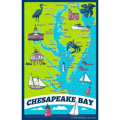 Chesapeake Bay Towel