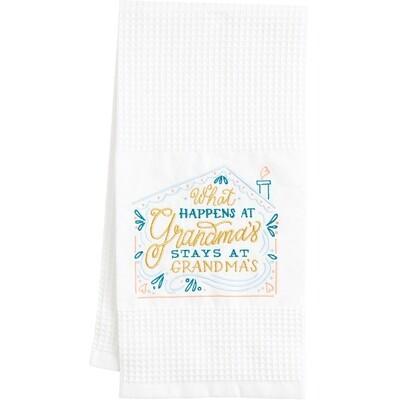 What Happens at Grandma's Towel