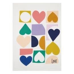 Love Hearts Kitchen Towel