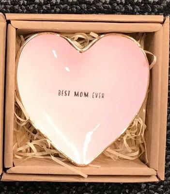 Best Mom Heart Tray