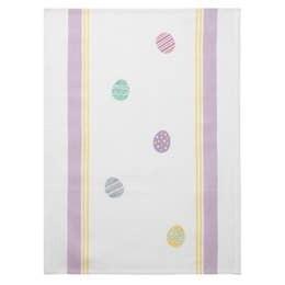 Easter Eggs Tea Towel