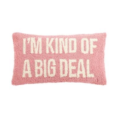 Big Deal Pillow Pink