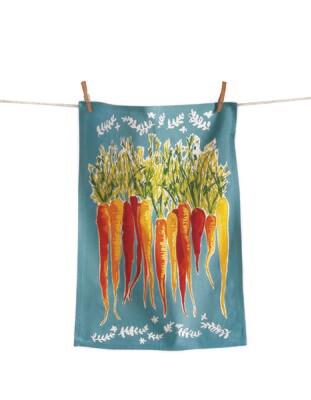 Carrots Tea Towel