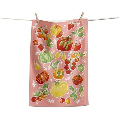 Tomatoes Tea Towel
