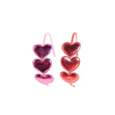 3 Heart Headband