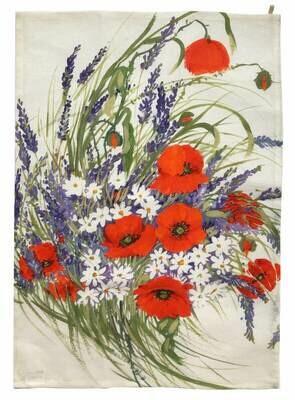 Linen Kitchen Towel - Poppys