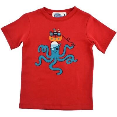 Pirate Octopus Tee