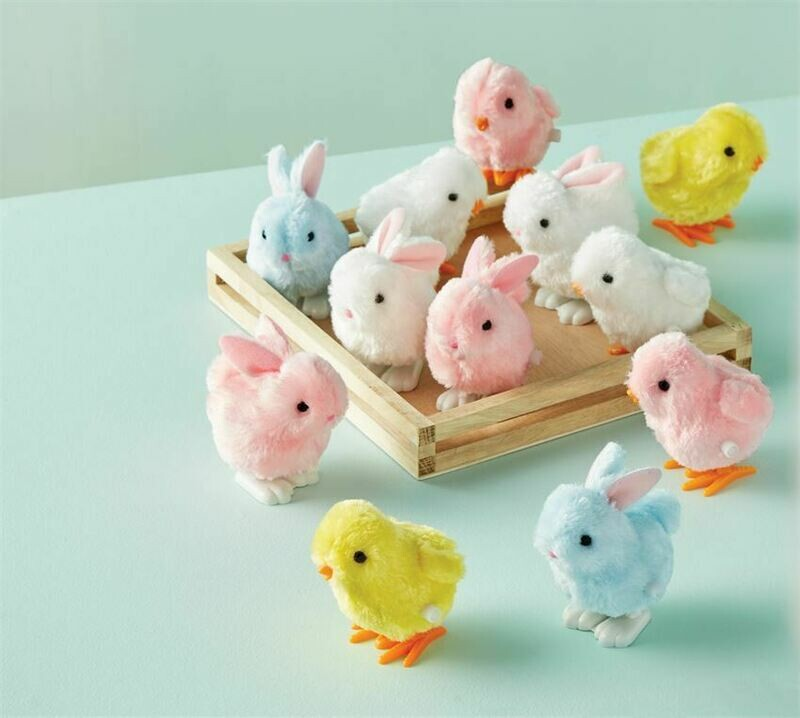 Wind Up Chicks and Bunnies