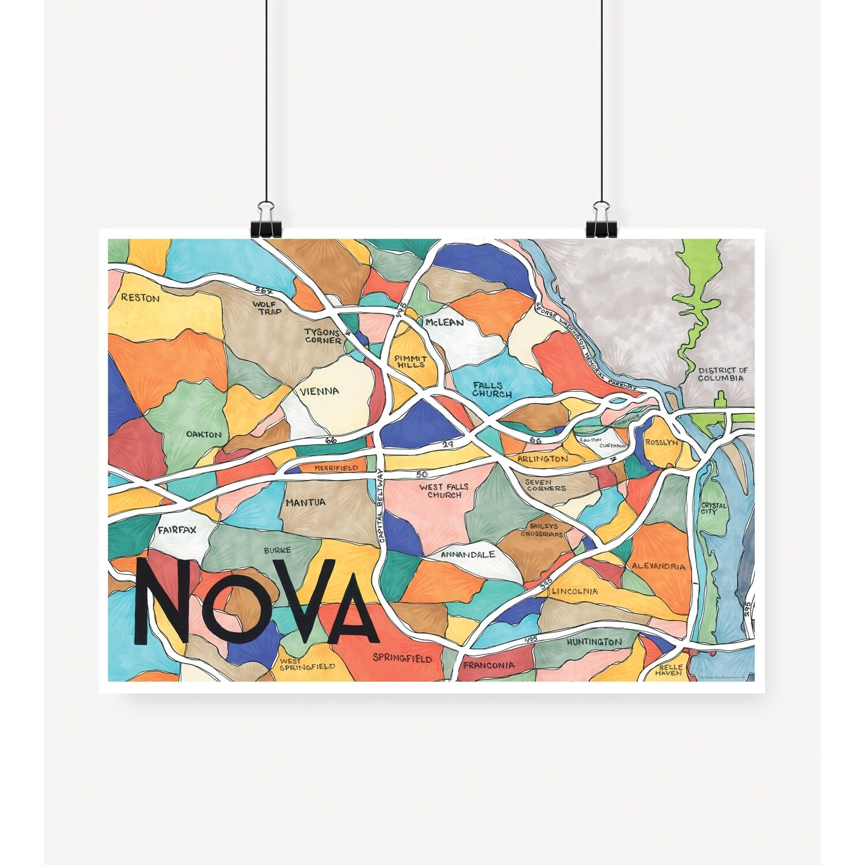 NOVA Map Print