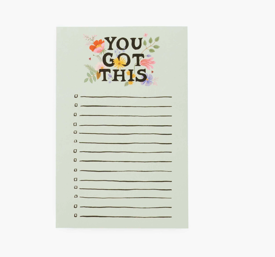 Rifle Paper You Got This Notepad