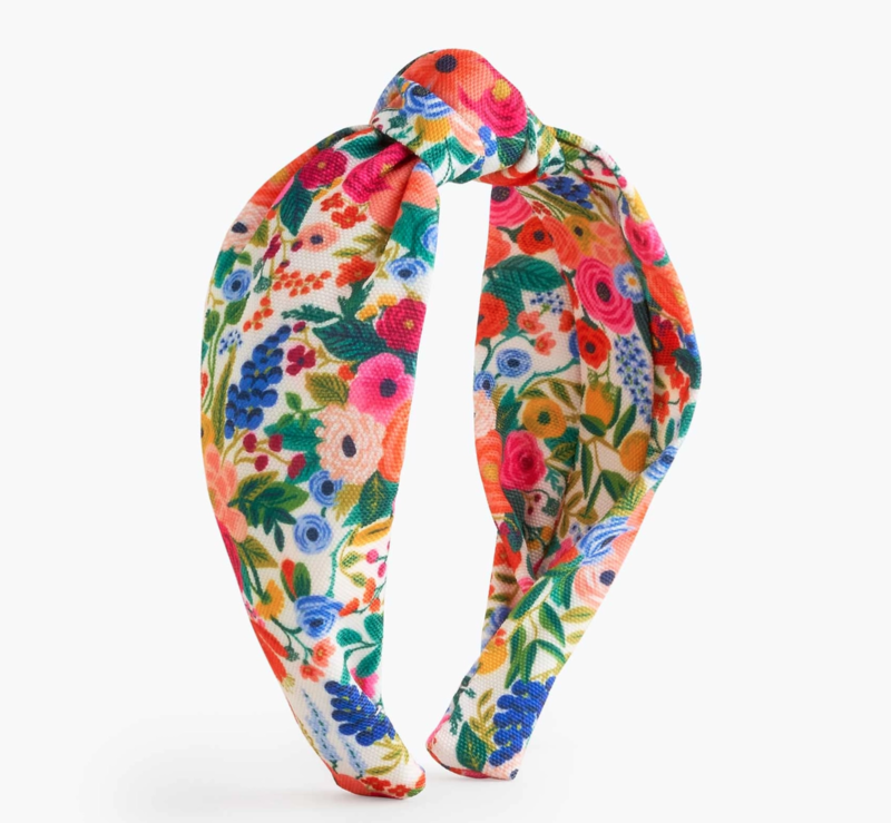 Rifle Paper Garden Party Knotted Headband
