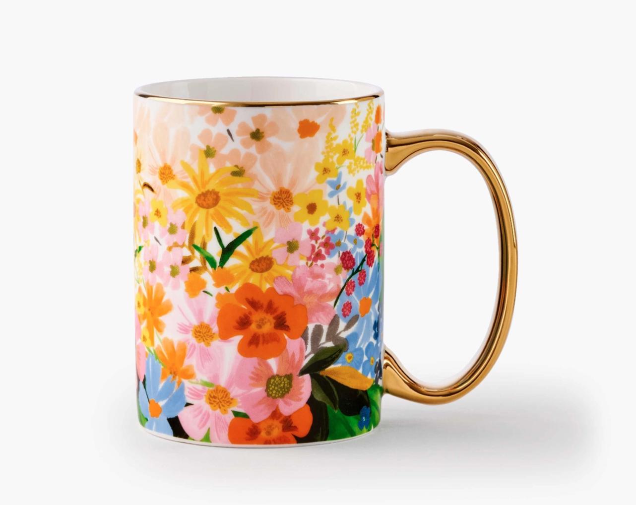 Rifle Paper Marguerite Porcelain Mug