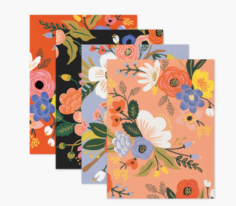 Rifle Paper Assorted Lively Floral Card Set