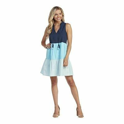 McKenna Colorblock Swing Dress