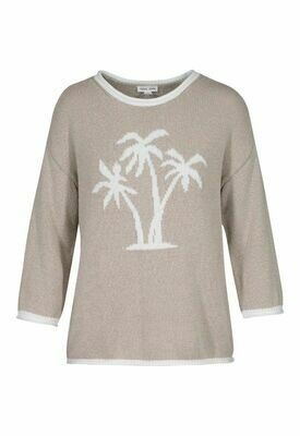 Tribal Cashew Palm Tree Sweater