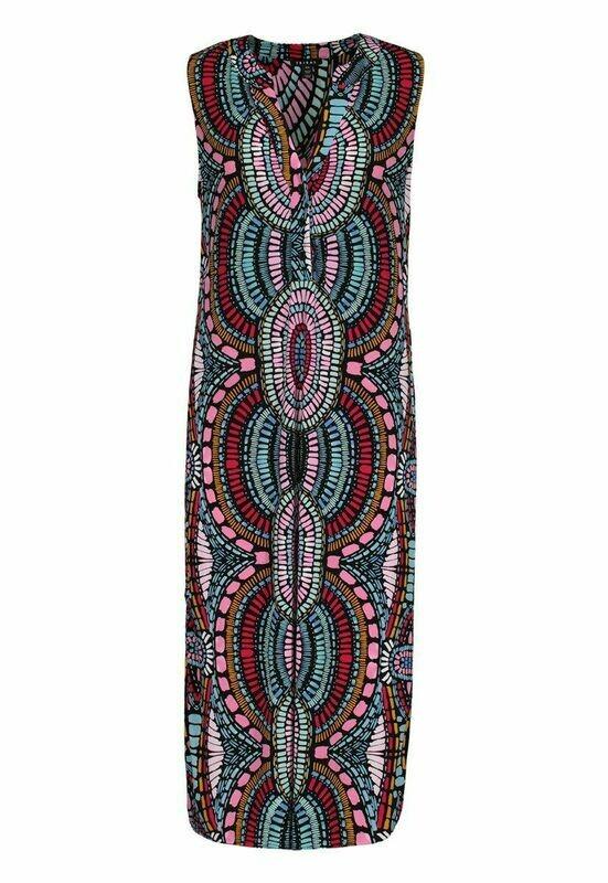 Tribal Rosewood Sleeveless Dress