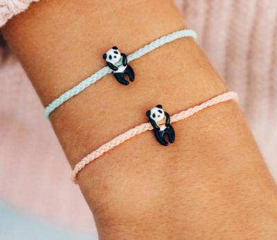 Pura Vida Panda Charm Charity Bracelet