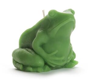 Beeswax Frog Candle