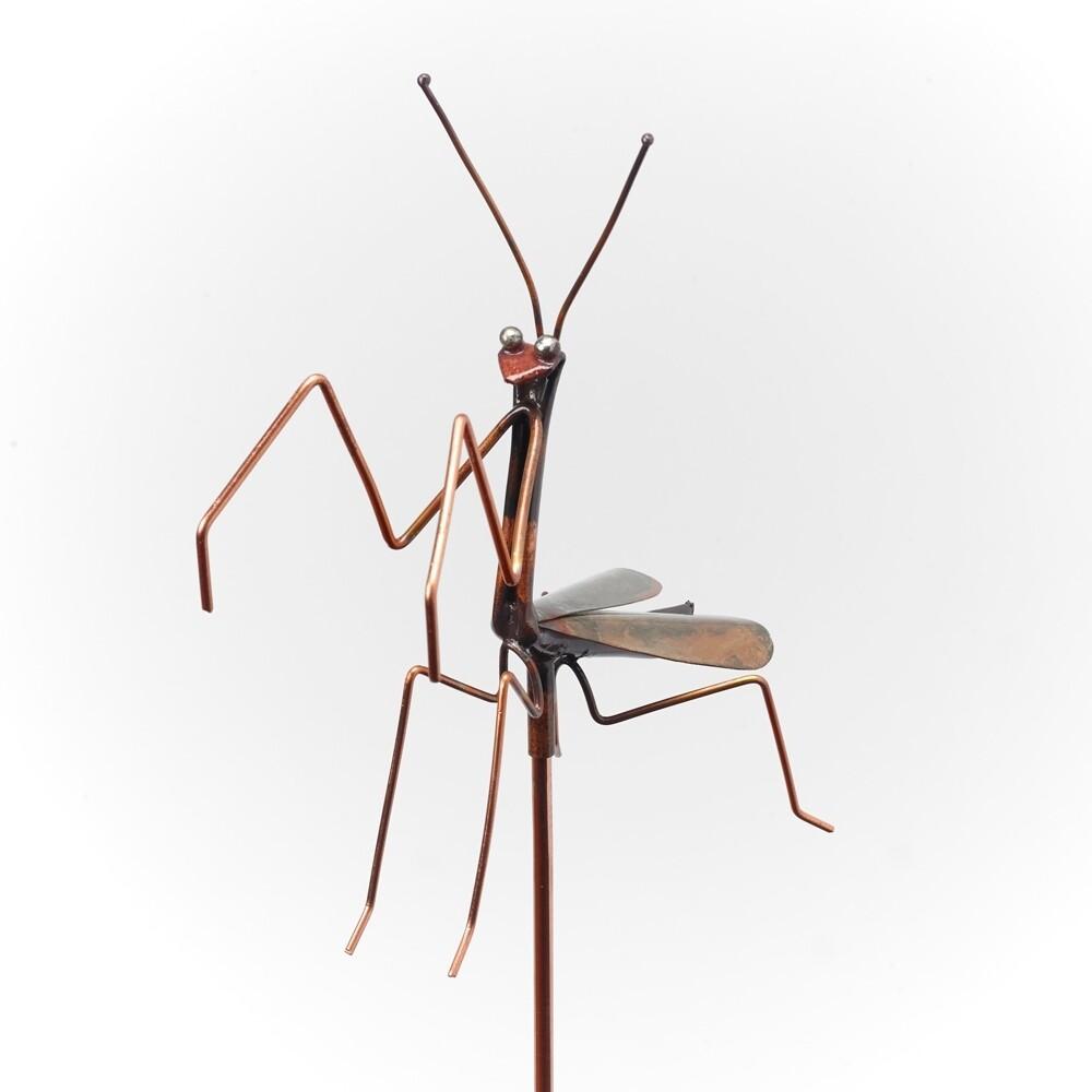 Praying Mantis Garden Stake