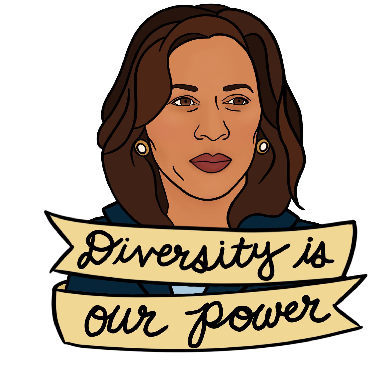 Kamala Harris Sticker