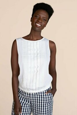 Trina Turk Eaton Top - White