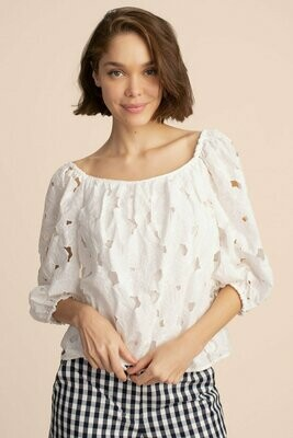 Trina Turk Thia Top - White
