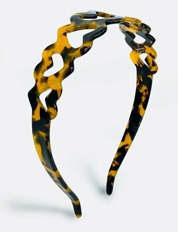 Draper James Heart Tortoise Headband