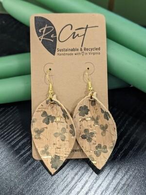 Recut Cork Earrings