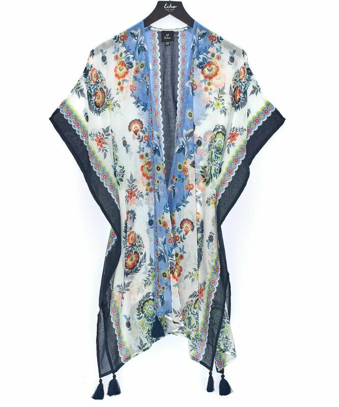 Echo Climbing Floral Cover Up