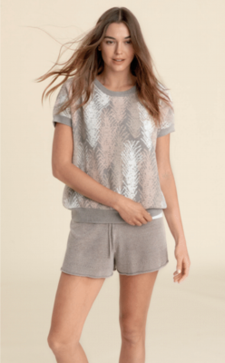 Barefoot Dreams Dolman Pullover Pewter