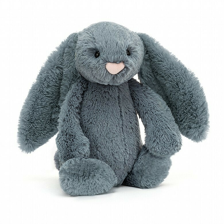 Jelly Cat Bashful Bunny Dusty Blue Medium