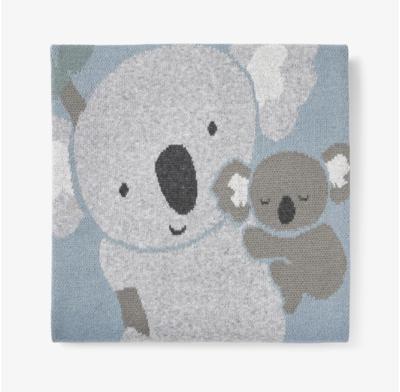 Blue Koala Blanket