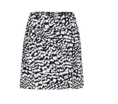 Tribal Skort Jet Black